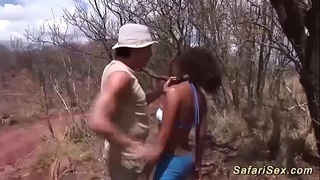 real african threesome interracial big cock porn