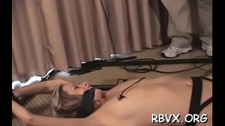 Passionate beauty who likes to make solo erotic videos