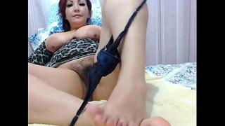 Colombian milf gets a creamy pussy