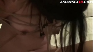 Chinese Model Fucked in Bondage Shoot
