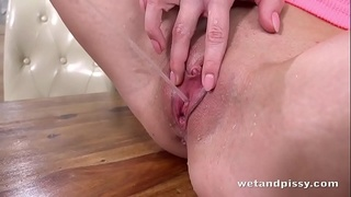 Piss Play - Hot Brunette Wet And Messy