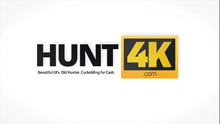 HUNT4K. Young couple needs cash so why blonde services stranger