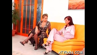 Voracious sweetie Gina Killmer gets sissy filled