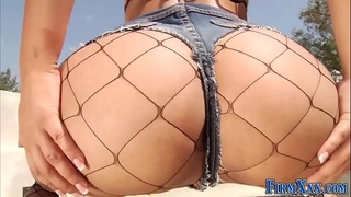 Dirty Babe With Big Booty Gets Hardcore Anal