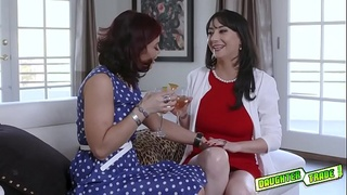 Sexy Milfs Swap Their Teen Sluts and start eating their pussies!