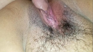 Wife'_s hot pussy being fucked