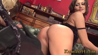 Milf Sensual Jane Lesbian Experience with Sexy Blonde Bombshell