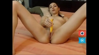 pussy fingered cute cam girl