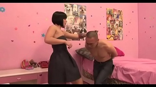 Slapping balls is as enjoyment as humiliating sissy studs for enjoyment