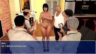 Lily of the Valley - Gang bang sex scene
