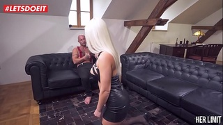 LETSDOEIT - Blonde Hottie Gets Shivering Orgasms with Mike Angelo (Blanche Bradburry)