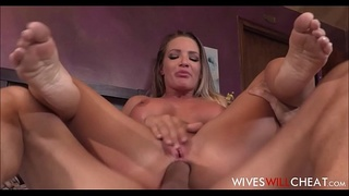 Big Tits Blonde MILF Cheating Wife Cali Carter Orders A Male Escort After Her Husband Cancels Plans