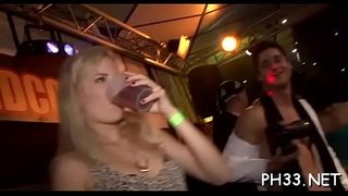 Blonde ladies engulfing dicks and being fingered during the hawt group sex