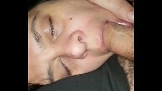 Lucky for me she already had my dick in her mouth when the pills I gave her kicked in! Hotsquirtcouple