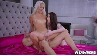 VIXEN A young nympho has the best threesome of her life