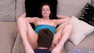 MILFTRIP Divorced Short Haired MILF Gets Vacation Cock