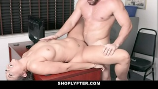 ShopLyfter - Black Bubble Butt Teen Lets Security Fuck Her Raw