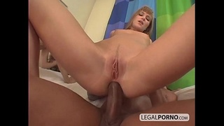 2 on 2: Anal foursome with DP and facial HC-11-04